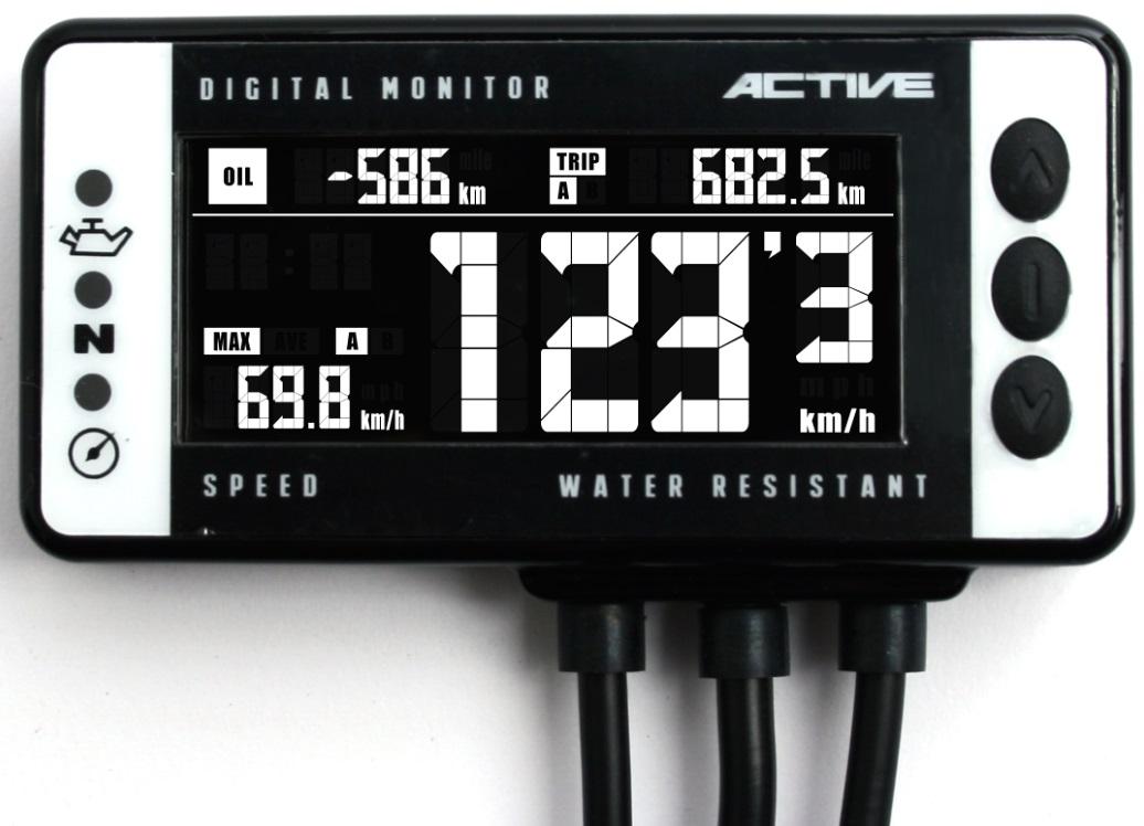 デジタルモニターV4 スピードメーター ACTIVE(アクティブ)