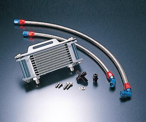 SRX400(85~86年) ストレートオイルクーラー#6 4.5-10R用ホースセット ACTIVE(アクティブ)