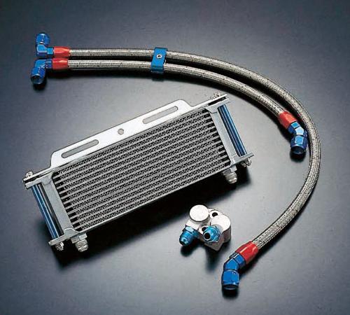 Z1100GP オイルクーラーキット(サイド廻し)ストレート #8 9-13R ACTIVE(アクティブ)