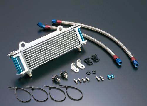 GPZ750F(83~85年) オイルクーラーキット (サイド廻し) ストレート #6 9-10R (サーモ対応キット) ACTIVE(アクティブ)