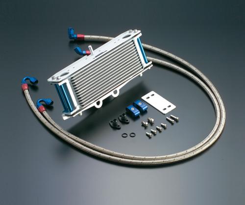 XJR400 オイルクーラーキット(サイド廻し)ストレート #6 9-10R (サーモ対応キット) ACTIVE(アクティブ)