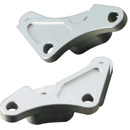 フロントキャリパーサポート brembo40mmピッチ対応 シルバー ACTIVE(アクティブ) GSX-R1000(01~02年)