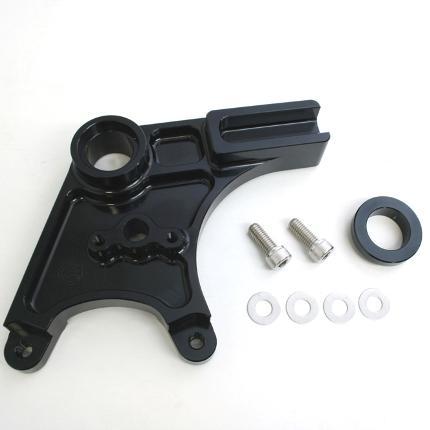 ZZR1400/ABS(06~11年) リアキャリパーサポート ブラック(brembo 2POT&スタンダードローター) ACTIVE(アクティブ)