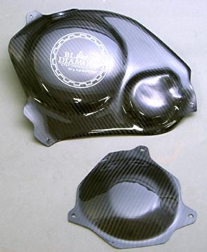 CBR1000RR(04~07年) EG-GUARDセット ドライカーボン製 ツヤ有 クリア塗装済 A-TECH(エーテック)