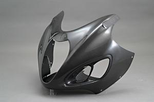 GSXR1300R 隼(99~07年) アッパーカウルSTD FRP/白 A-TECH(エーテック)