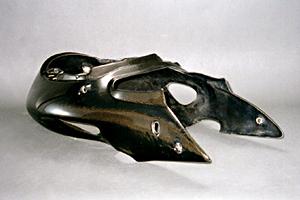 GSXR1300R 隼(99~07年) シートカウル 平織カーボン A-TECH(エーテック)