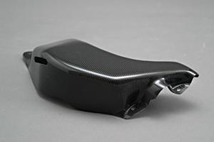 GSXR1300R 隼(99~07年) リザーバータンクカバー 綾織カーボン A-TECH(エーテック)