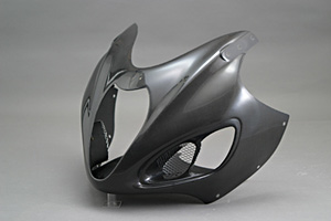 GSXR1300R 隼(99~07年) ブラックダイアモンド フルカウルSTD 5点セット 綾織カーボン A-TECH(エーテック)