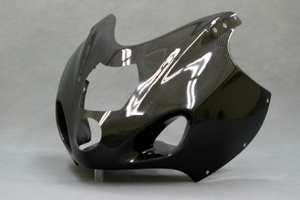 GSXR1300R 隼(99~07年) ブラックダイアモンド フルカウルSPL 5点セット 平織カーボン A-TECH(エーテック)