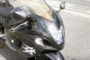 GSXR1300R 隼(08年~) ストリート用フルカウル 4点セット 綾織カーボン A-TECH(エーテック)