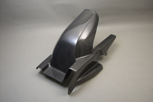 GSX1400(01年~) リアフェンダー 綾織カーボン A-TECH(エーテック)