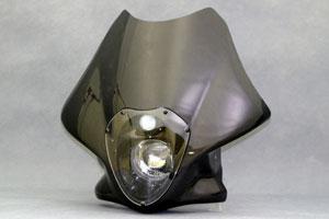 GSX1400(01年~) ビキニカウル ルナソーレ スクリーンレス 車検対応ヘッドライト 綾織カーボン A-TECH(エーテック)