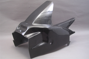 GSX-R750(08年~) リアフェンダー フルカバード 平織カーボン A-TECH(エーテック)