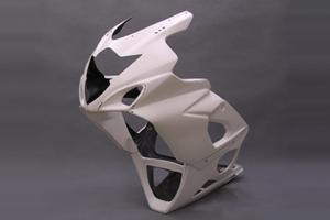 GSX-R1000(05年) ストリート用 フルカウル FRP/白 A-TECH(エーテック)