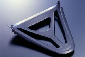 YZF-R1(98~99年) ロアーフロントパネル カーボンケプラ A-TECH(エーテック)
