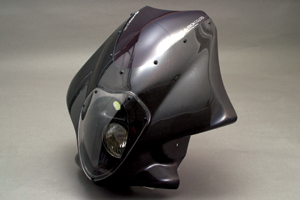 XJR1300(98~07年) LunaSole(ルナソーレ) ビキニカウル スクリーン付き カーボンケプラ A-TECH(エーテック)