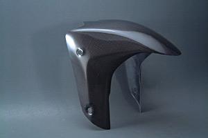 YZF1000(96~00年) フロントフェンダー 平織りカーボン A-TECH(エーテック)