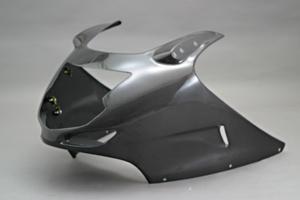 CBR1100XX(97~98年) アッパーカウル FRP/白 A-TECH(エーテック)