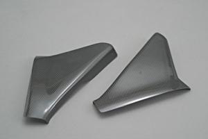 CBR1100XX フレームヒートガード 左右セット FRP/黒 A-TECH(エーテック)