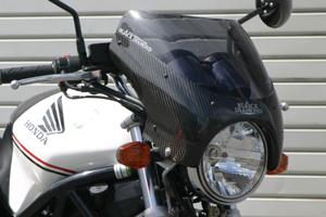 VTR250(97~08年) ビキニカウル スモークスクリーン付き 平織りカーボン A-TECH(エーテック)