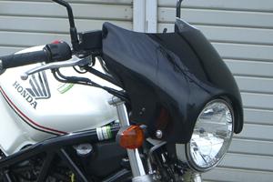 VTR250(97~08年) ビキニカウル スクリーンレス 平織りカーボン A-TECH(エーテック)