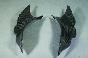 CBR250R(11~13年) アッパーカウルインナー 平織りカーボン A-TECH(エーテック)