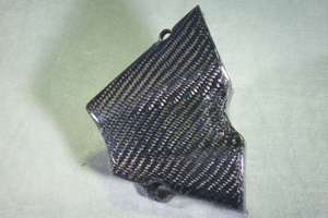 CBR250R(11~13年) フロントスプロケットカバー 平織りカーボン A-TECH(エーテック)