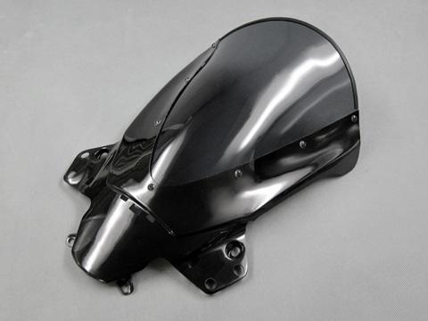 CBR250R(11~13年) エアロスクリーン ライトスモーク FRP/黒 A-TECH(エーテック)
