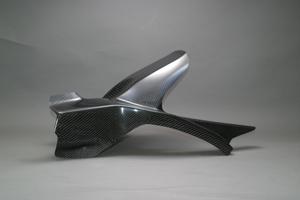 CBR1000RR(04~07年) リアフェンダーSPL1 綾織カーボン A-TECH(エーテック)