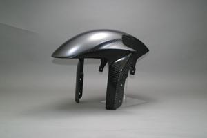 CBR1000RR(04~07年) フロントフェンダーSPL カーボンケプラ A-TECH(エーテック)