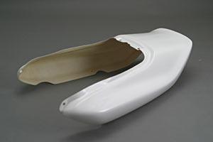 CB1000SF(92~97年) シートカウル 綾織カーボン A-TECH(エーテック)