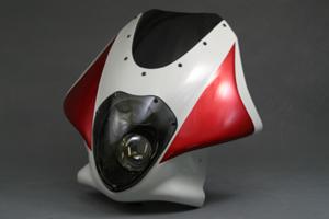 CB1300SF(98~02年) ビキニカウル ルナソーレ スクリーン付き カーボンケプラ A-TECH(エーテック)