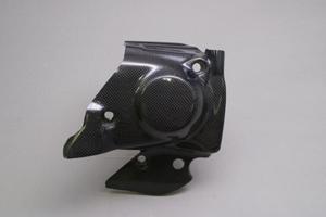 CB1300SF(98~02年) フロントスプロケットカバー 平織りカーボン A-TECH(エーテック)