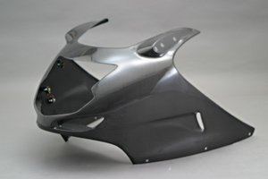 CBR1100XX(99年~) アッパーカウル FRP/白 A-TECH(エーテック)