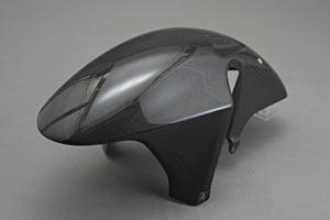 【送料無料】 CBR954(02~03年) フロントフェンダー 平織りカーボン A-TECH(エーテック)