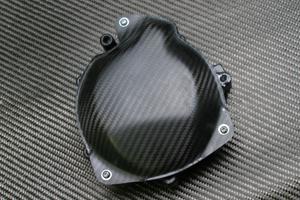ZX-10R(06年~) ジェネレーターカバー キット(キットパーツ用)ドライカーボン ツヤ有 クリア塗装済 A-TECH(エーテック)