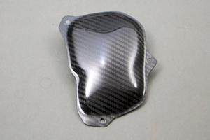 ZZR1400(06~11年) パルサーカバー ドライカーボン製 ツヤ有 クリア塗装済 A-TECH(エーテック)