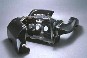 GPZ900R(84~02年) ラム圧キット(FCRキャブ専用) FRP/黒 A-TECH(エーテック)