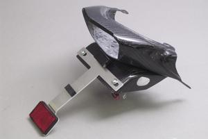 Ninja250R(ニンジャ)08~12年 フェンダーレスキット 平織カーボン A-TECH(エーテック)