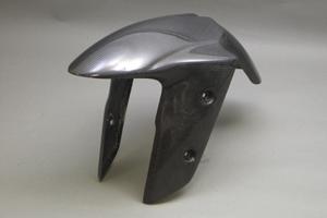 Ninja250R(ニンジャ)08~12年 フロントフェンダーSPL 平織カーボン A-TECH(エーテック)