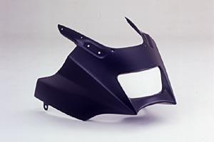 GPZ1100(95~98年) アッパーカウルSPL FRP/白 A-TECH(エーテック)