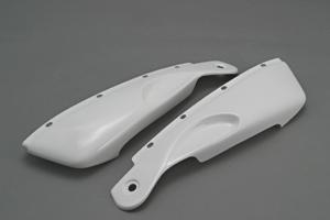 ZZR1100D(93~01年) ハーフサイドカウルセット(左右セット) 平織カーボン A-TECH(エーテック)