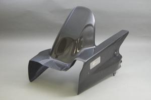 ZZR1400(06~11年) リアフェンダー(フルカバータイプ) FRP/黒 A-TECH(エーテック)