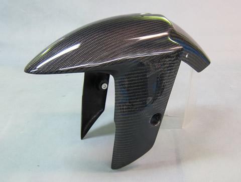 Ninja650(ニンジャ)12年~ フロントフェンダーSPL FRP/黒(FB) A-TECH(エーテック)