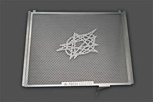 ZX-10R(04~05年) ラジエターコアガード ステンレス A-TECH(エーテック)