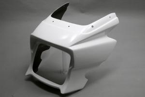 ZRX1200 DAEG(ダエグ)09年~ ビキニカウル FRP/白 A-TECH(エーテック)