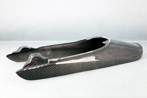 Z900RS(18年) 綾織ドライカーボン テールカウル クリア塗装済 A-TECH(エーテック)