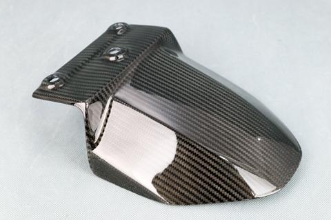 Z900RS(18年) 平織ドライカーボン アンダーリアフェンダー クリア塗装済 A-TECH(エーテック)