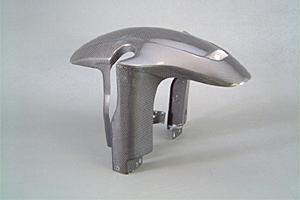 Dトラッカー(D-TRACKER)01~05年 トウリツフロントフェンダー FRP/白(FW) A-TECH(エーテック)