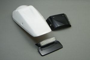 Dトラッカー(D-TRACKER)04~07年 テールフェンダーキット LEDテールランプ付 FRP/白(FW) A-TECH(エーテック)